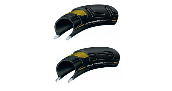 "Continental Grand Prix Attack & Force 28"" Set faltbar"